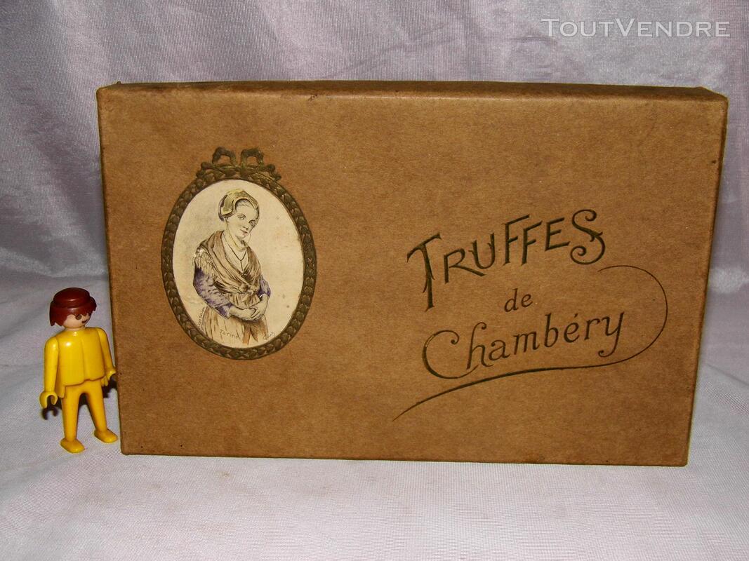 GRANDE BOITE VINTAGE CONFISERIE TRUFFES DE CHAMBERY GONNET 182120429