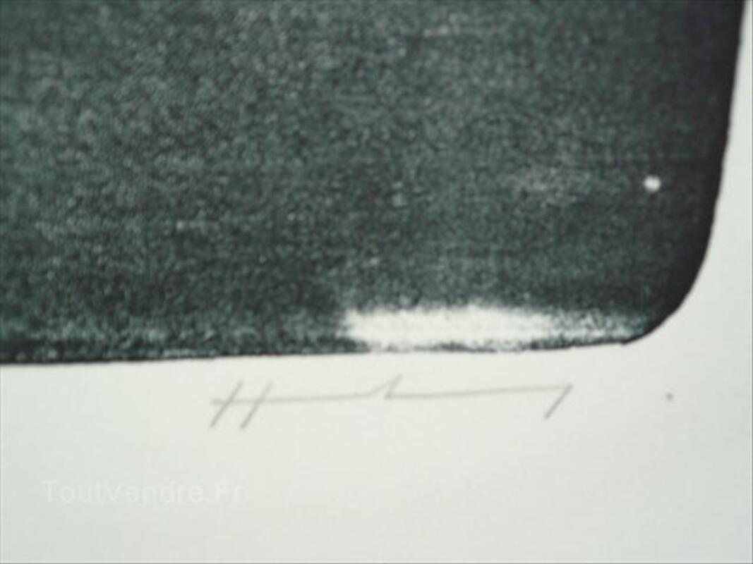 Grande litho Hans HARTUNG-L15-1974-105cmx76cm 54526663