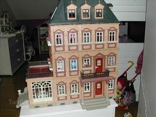 Grande Maison Playmobil 1900 ancienne - 4 étages