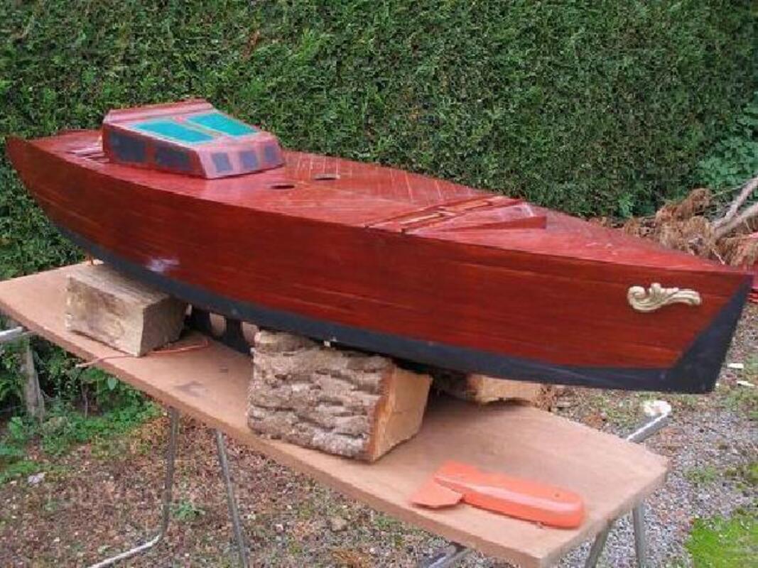 Grande maquette de bateau  Naviguant  ,1m 68 de long 89824614
