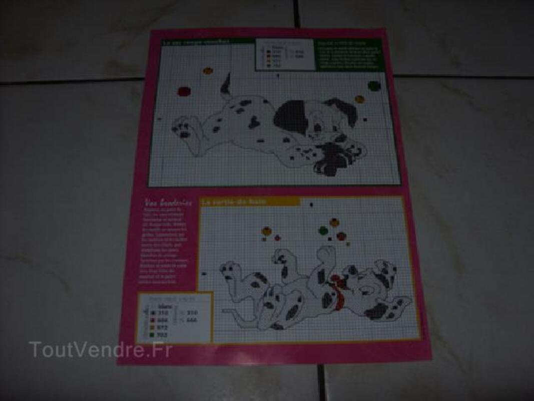 Grilles de point de croix animaux de disney 2  € 50 104944018