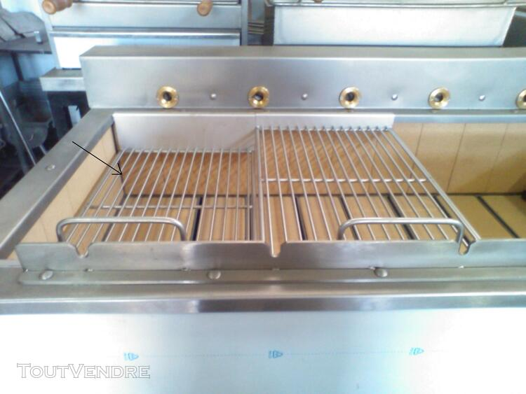 Grilles inox pour BBQ au charbon de Bois 324802610