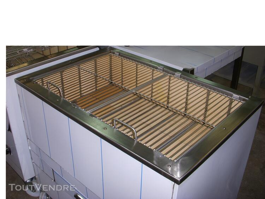 Grilles inox pour BBQ au charbon de Bois 324805100