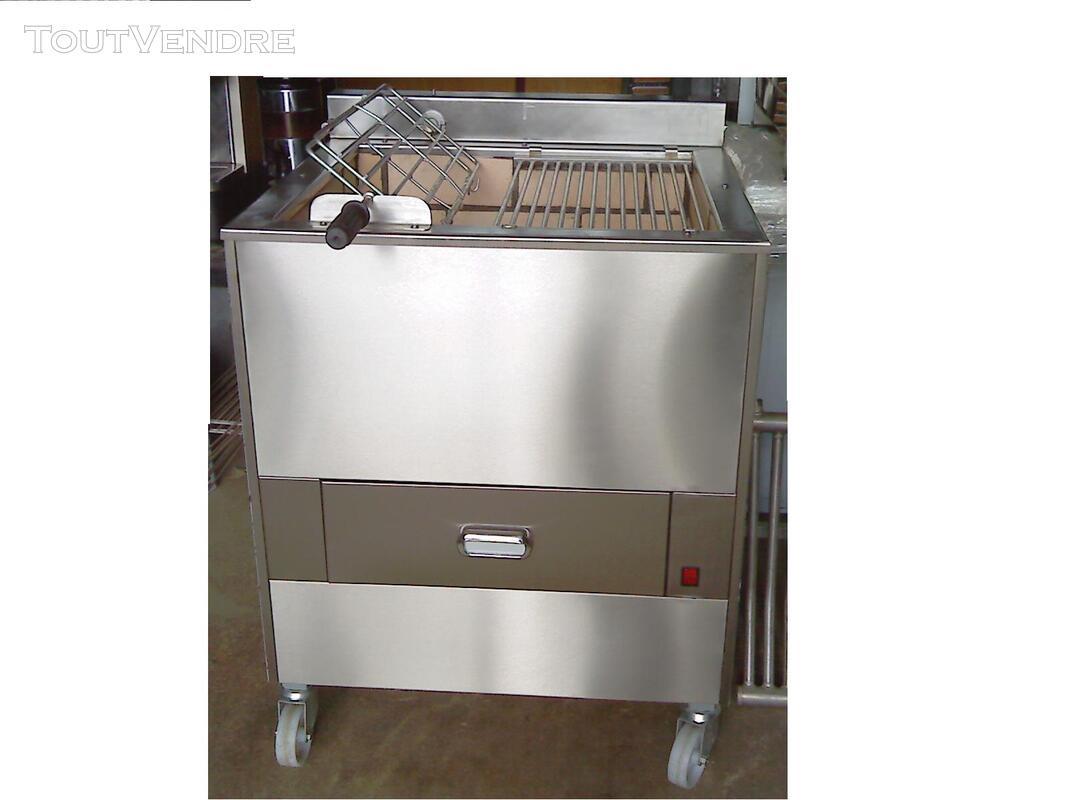 Grilles inox pour BBQ au charbon de Bois 324805106