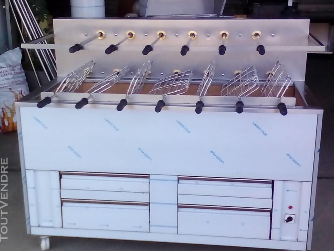 Grilles inox pour BBQ au charbon de Bois 324805112