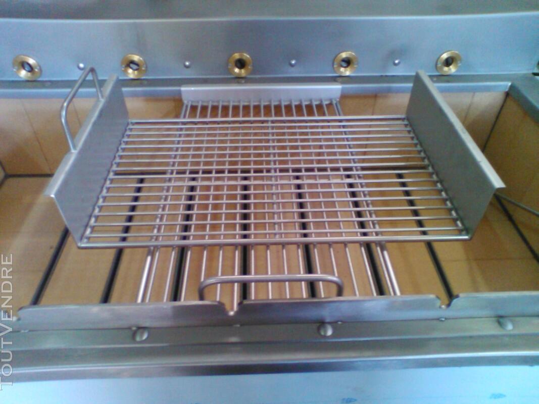 Grilles inox pour BBQ au charbon de Bois 324805139