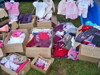 Gros lot de vêtement pour bébé fille