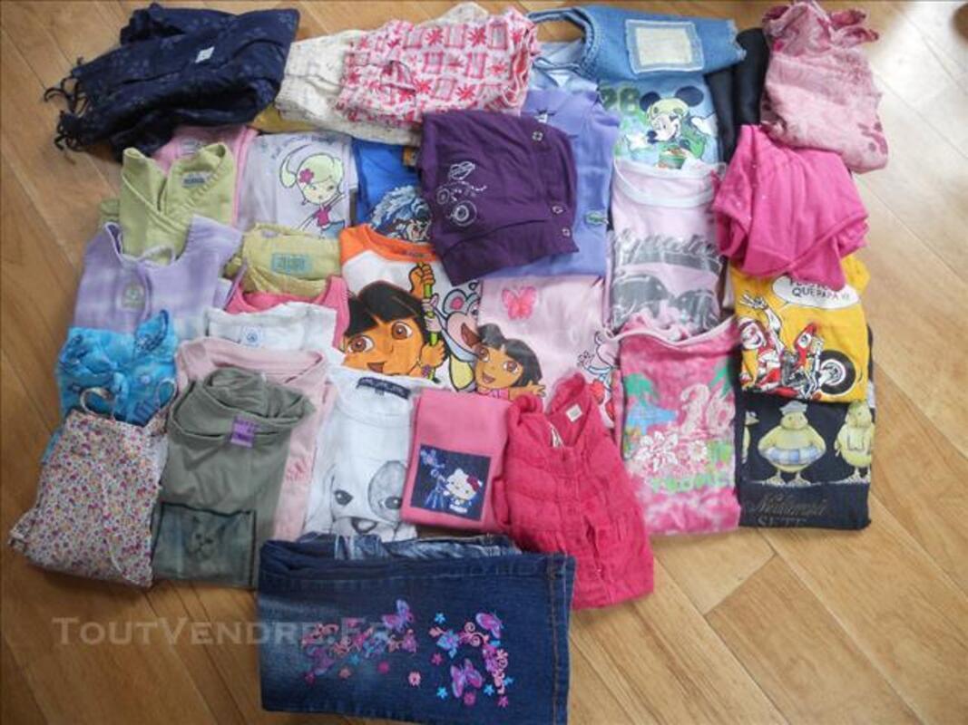 Gros lot de vêtements fille 6 ans 84634604
