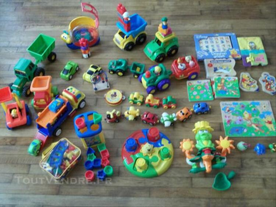 Gros lot jouet 12mois/3 ans + 3 neuf camion puzzle 73999251