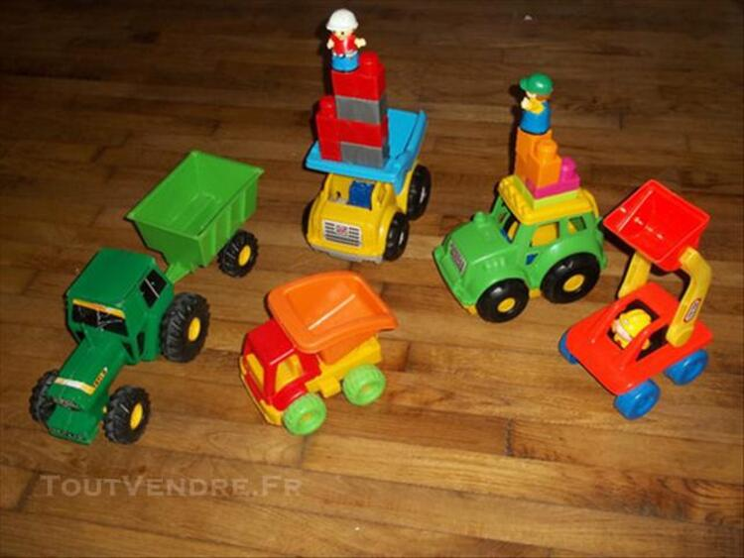 Gros lot jouet 12mois/3 ans + 3 neuf camion puzzle 73999253