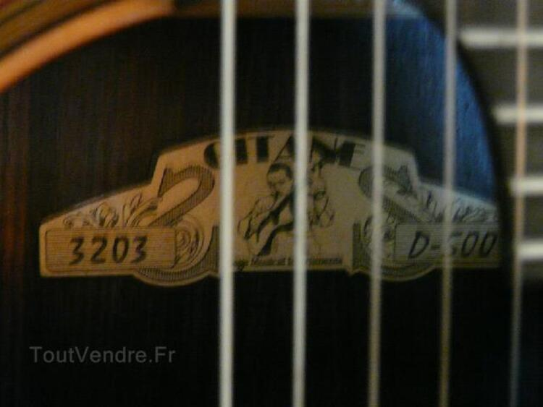 Guitare jazz manouche Gitane D500 104456521