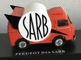 """Hachette - Peugeot D4A """"SARB"""""""
