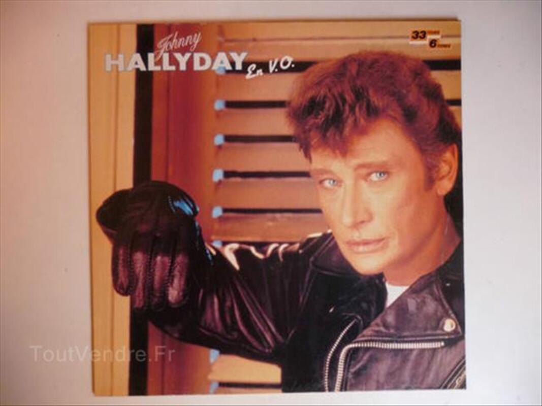 Hallyday en vo vinyle 88230078