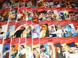 Harlequin : Collection Rouge Passion   ,  50  livres