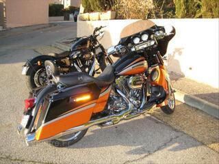 Harley davidson 1800 cvo 2011