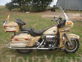 Harley davidson tour glide flt de 1983 tbe