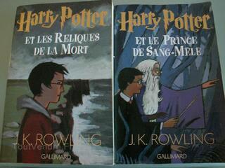 Harry Potter 6+7 (Prince Sang Mêlé + Relique Mort)