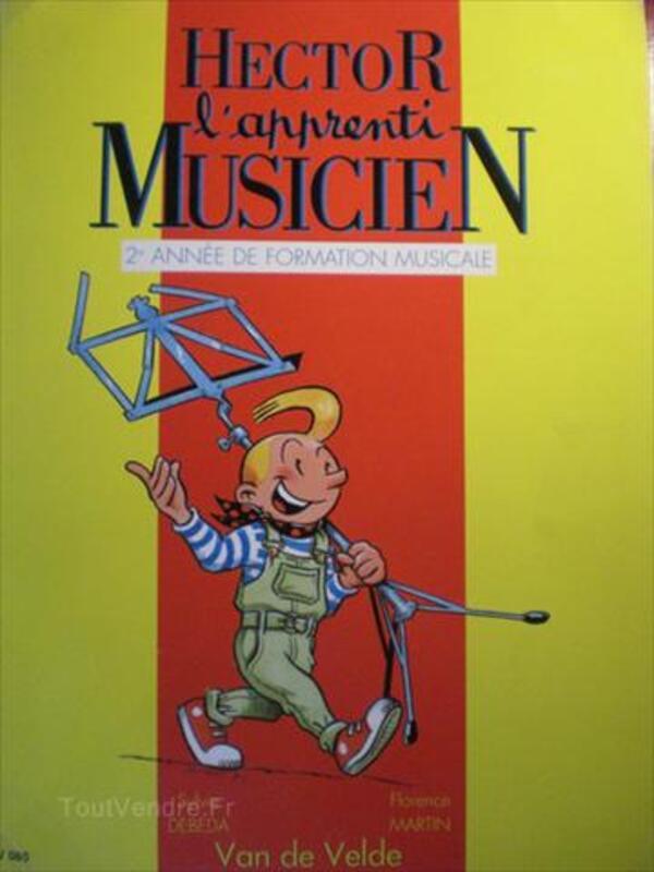 Hector Apprenti Musicien 2e Année De Formation Musicale 64399981