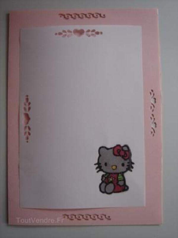 Hello Kitty, carte anniversaire,invitations,naissance 91409359