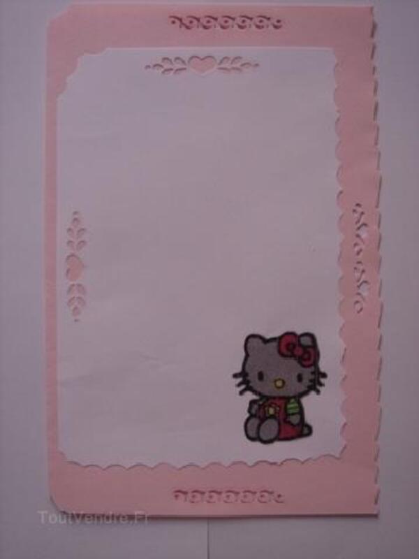 Hello Kitty, carte anniversaire,invitations,naissance 91856252