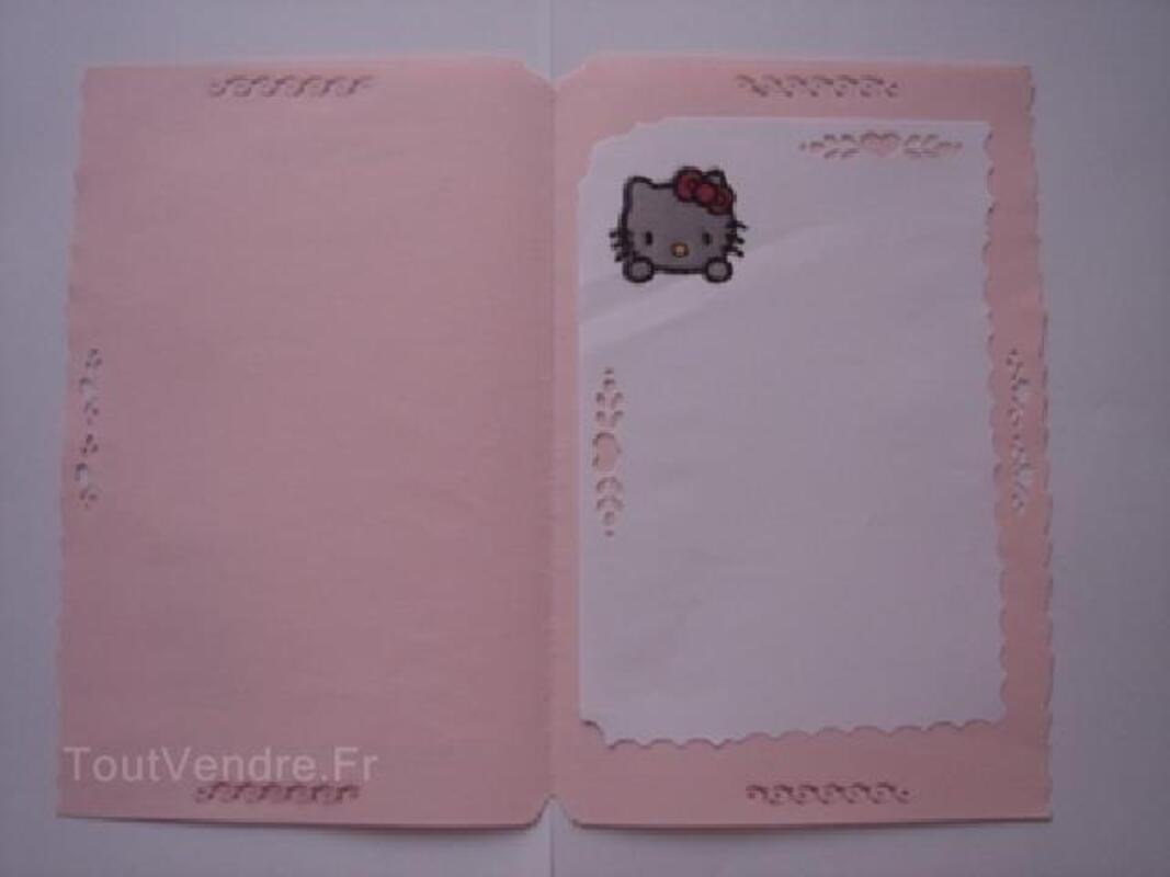 Hello Kitty, carte anniversaire,invitations,naissance 91856253