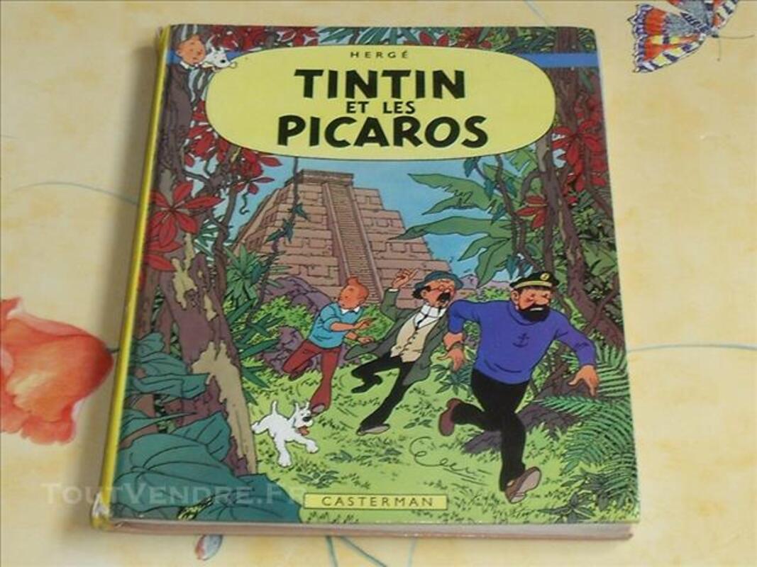 Hergé BD Ancienne Album Tintin et les Picaros 1976 C1 78246607