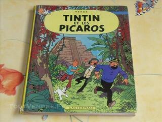 Hergé BD Ancienne Album Tintin et les Picaros 1976 C1