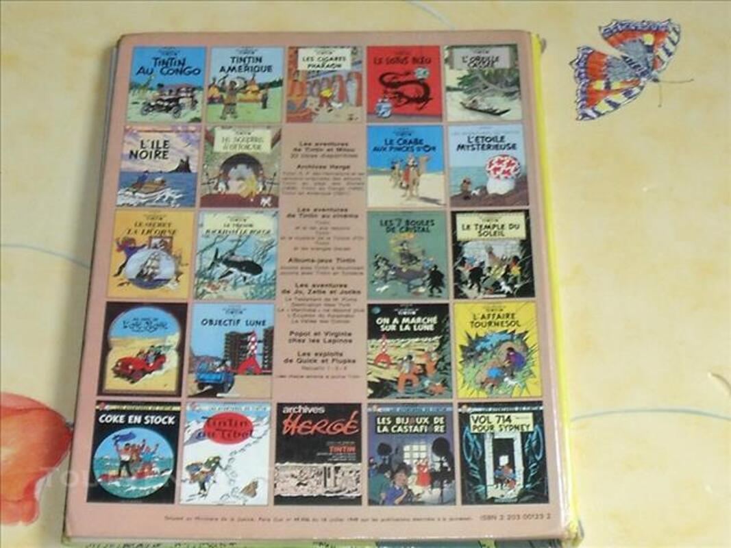 Hergé BD Ancienne Album Tintin et les Picaros 1976 C1 78246608