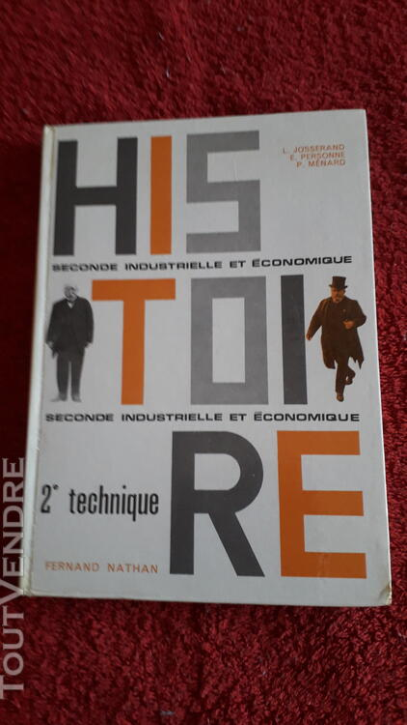 Histoire 2 e TECHNIQUE NATHAN 705 655280241