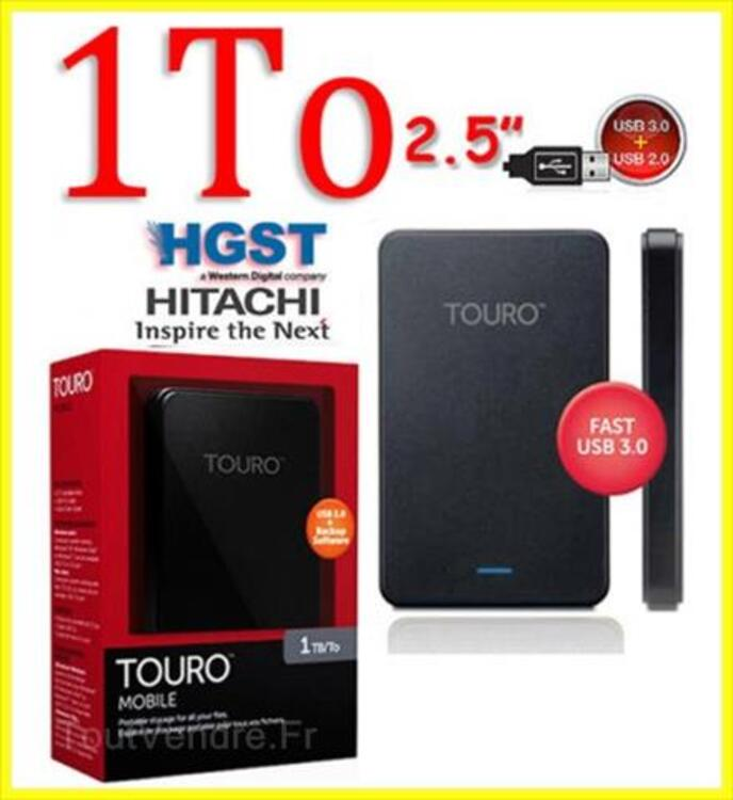 """HITACHI Disque dur externe 2.5"""" USB 3.0  - 1 To 98248630"""