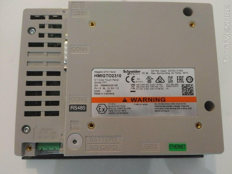 """HMIGTO2310 Schneider Electric  Magelis Touch Panel 5.7"""" Colo"""