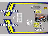 Honda CB 125 S3 / J Kit déco, sticker