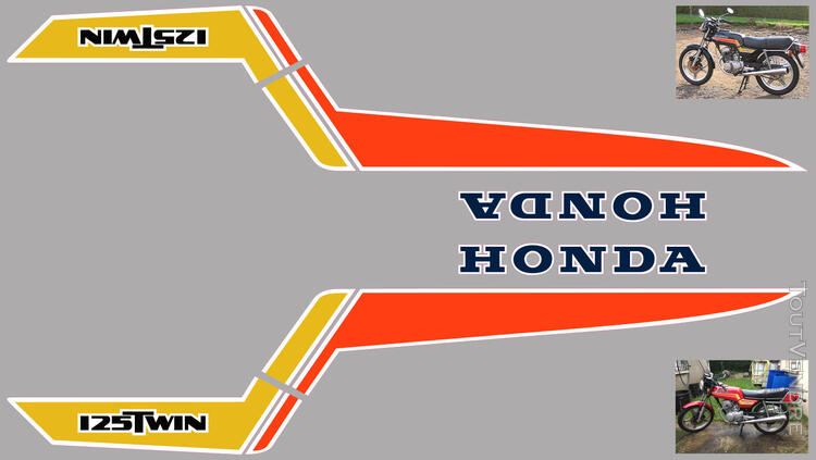 Honda CB125 T2 kit déco, sticker 632325148