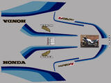 Honda CB750F2 RC04 82- 83 Kit déco stickers