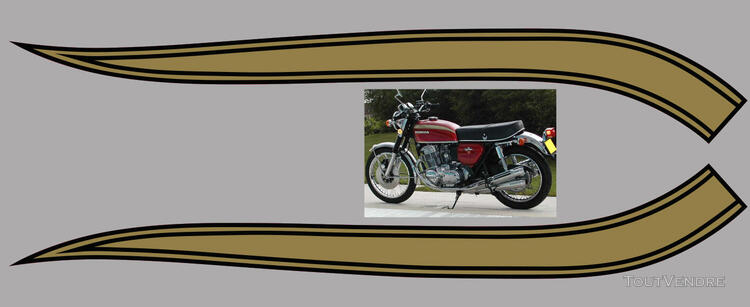 Honda CB750Four, K0 à K2, Kit déco, stickers 633289049
