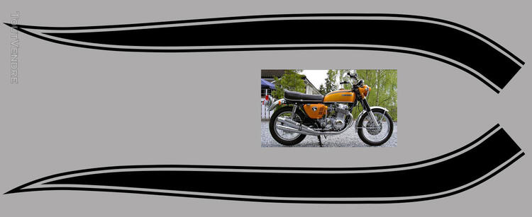 Honda CB750Four, K0 à K2, Kit déco, stickers 633289115
