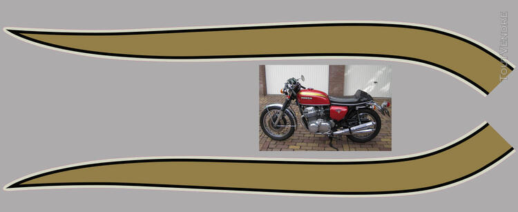 Honda CB750Four, K0 à K2, Kit déco, stickers 633289208