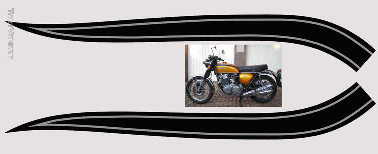 Honda CB750Four, K0 à K2, Kit déco, stickers 633289358
