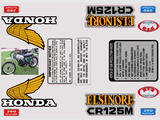 Honda CR 125 Kit déco stickers