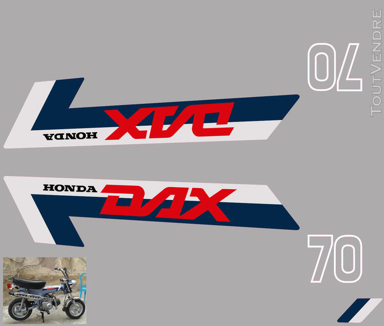Honda Dax ST70, Kit déco stickers 713006328