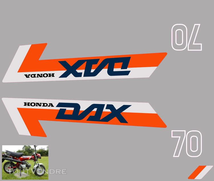 Honda Dax ST70, Kit déco stickers 713006331