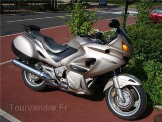 Honda deauville 650 grise