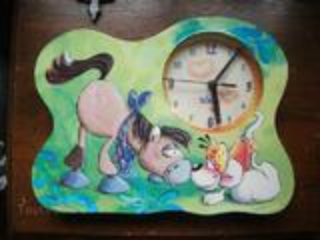 Horloge diddl