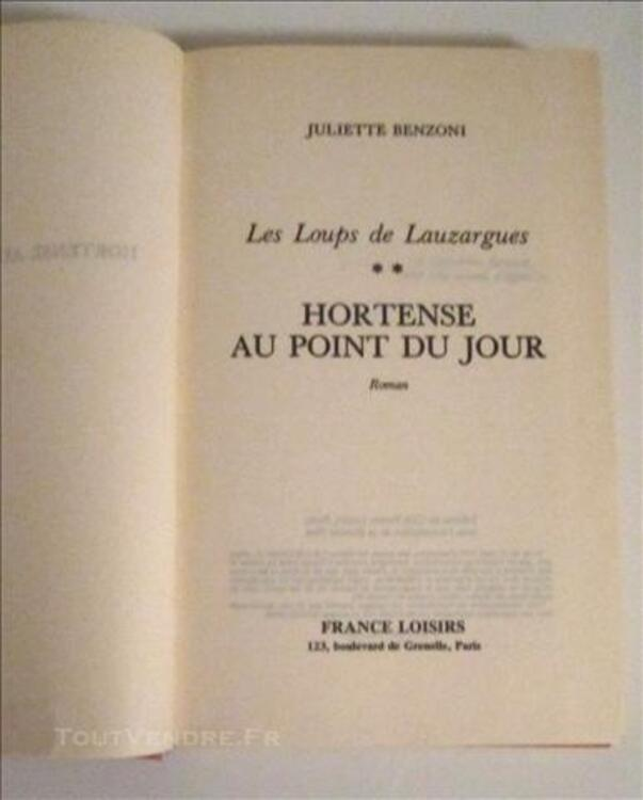 Hortense Au Point Du Jour Les loups de Lauzargues 76578752