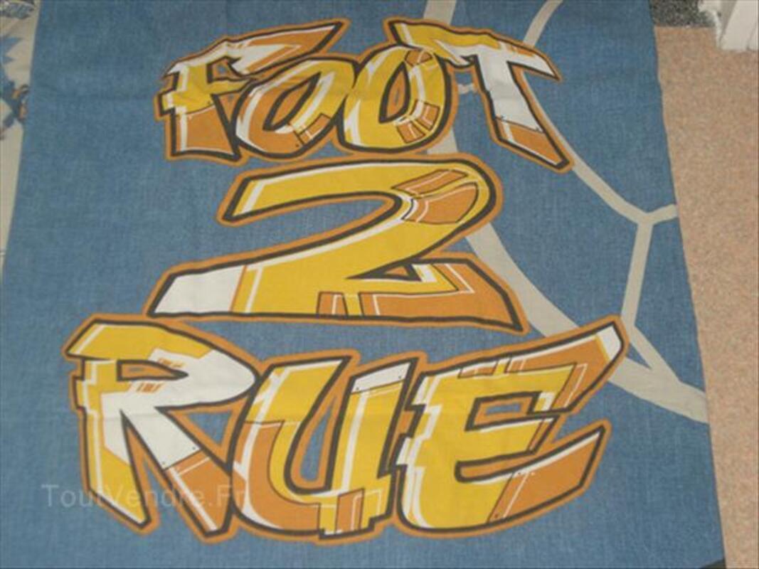 """Housse de couette et taie """"Foot de rue"""" 72954082"""