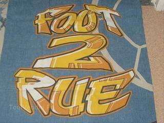 """Housse de couette et taie """"Foot de rue"""""""