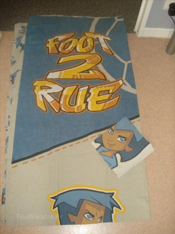 """Housse de couette et taie """"Foot de rue"""" 72954083"""