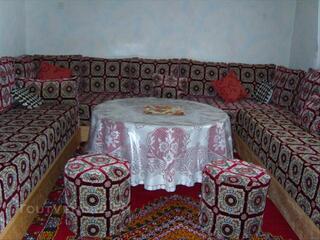 Housses de banquettes pour salon marocain