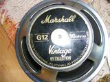 Hp celestion vintage 30 made in england 16 ohm