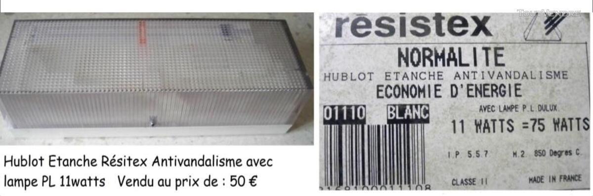 Hublot étanche Résitex Antivandalisme 319693663